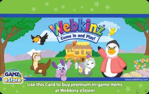 WebKinz Card