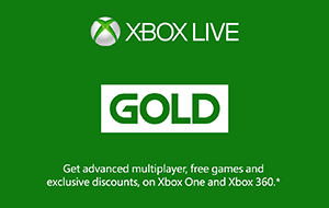 Xbox Live Gold Membership NZ