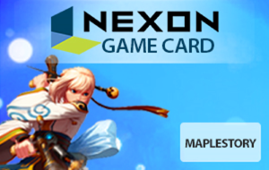 MapleStory Nexon Game Card Cash