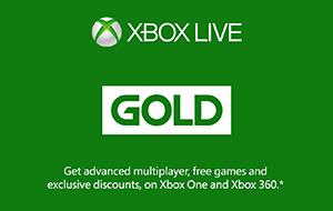 Xbox Live Gold Membership Australia