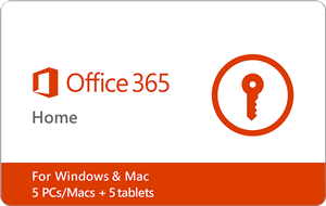 Microsoft Office 365 Home 1-yr Subscription