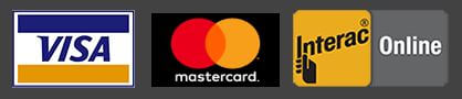 Credit-Card-Visa-And-Master-Card-Interac Logo